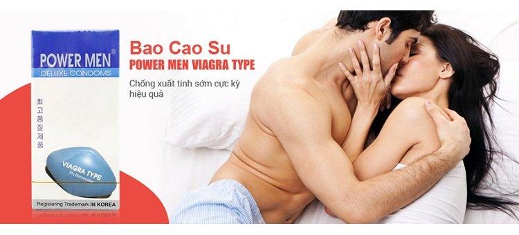 Shop người lớn giới thiệu sản phẩm - Bao cao su Viagra