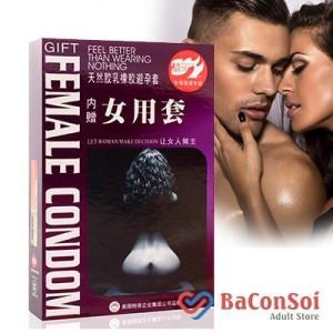Sản Phẩm Bao cao su nữ Female Condom quyến rũ tự tin