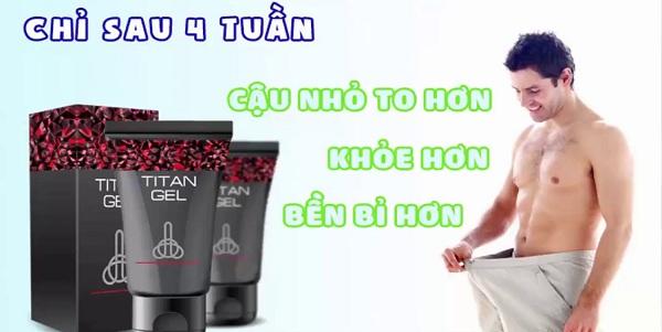 titan gel nga chính hãng