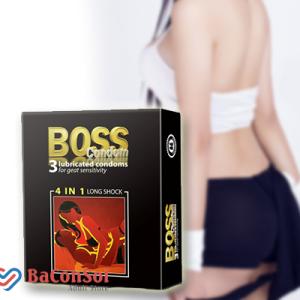 Sản Phẩm Bao Cao Su Boss 4 in 1