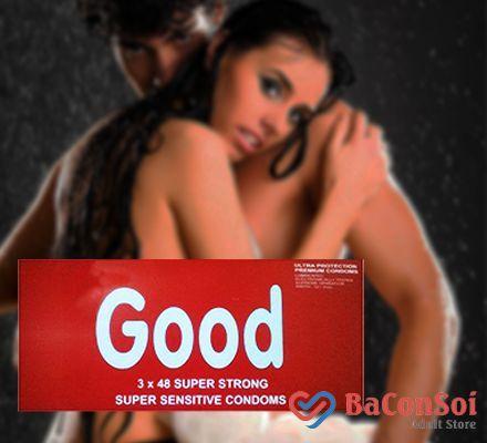 Sản Phẩm Bao Cao Su Good – an toàn cho mối quan hệ