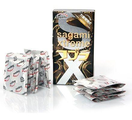 Sản Phẩm Bao Cao su Sagami Xtreme Cobra
