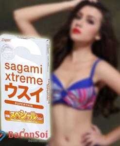 Sản Phẩm Bao cao su Sagami Xtreme Super Thin