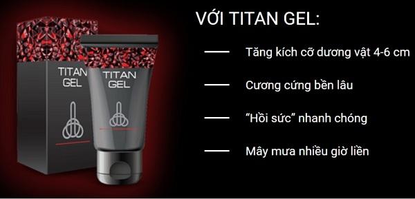 gel titan hieu qua nhu the nao