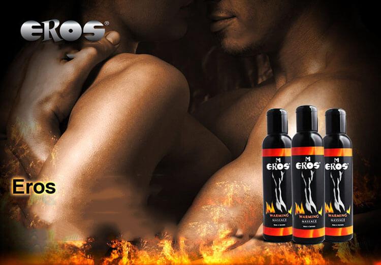 dầu massage làm nóng cơ thể